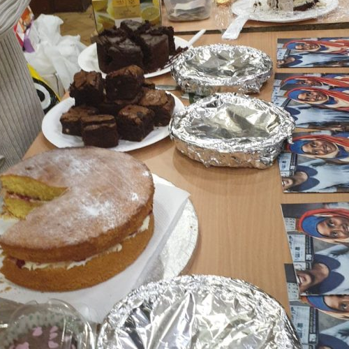 A successful bake sale