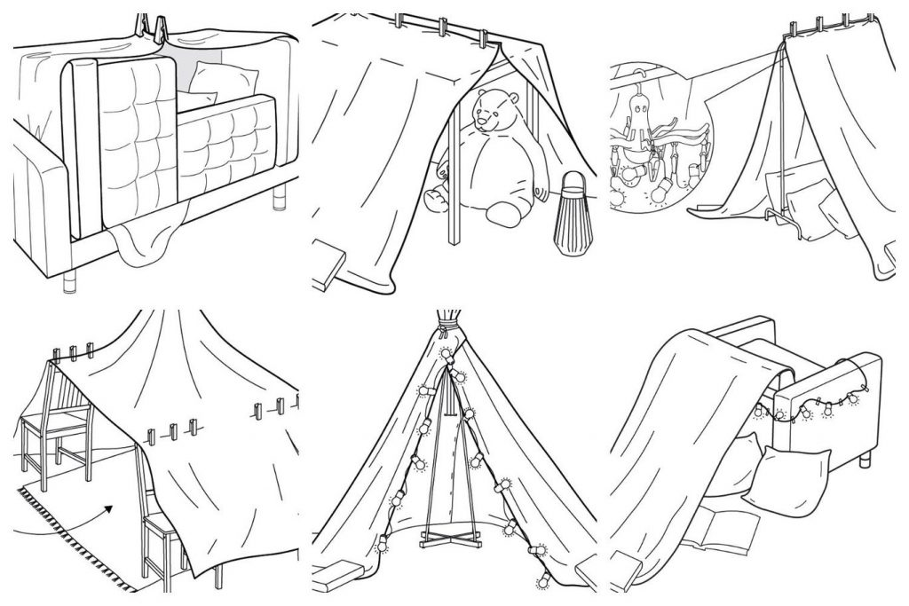 HOW TO BUILD A DEN WITH AKELA