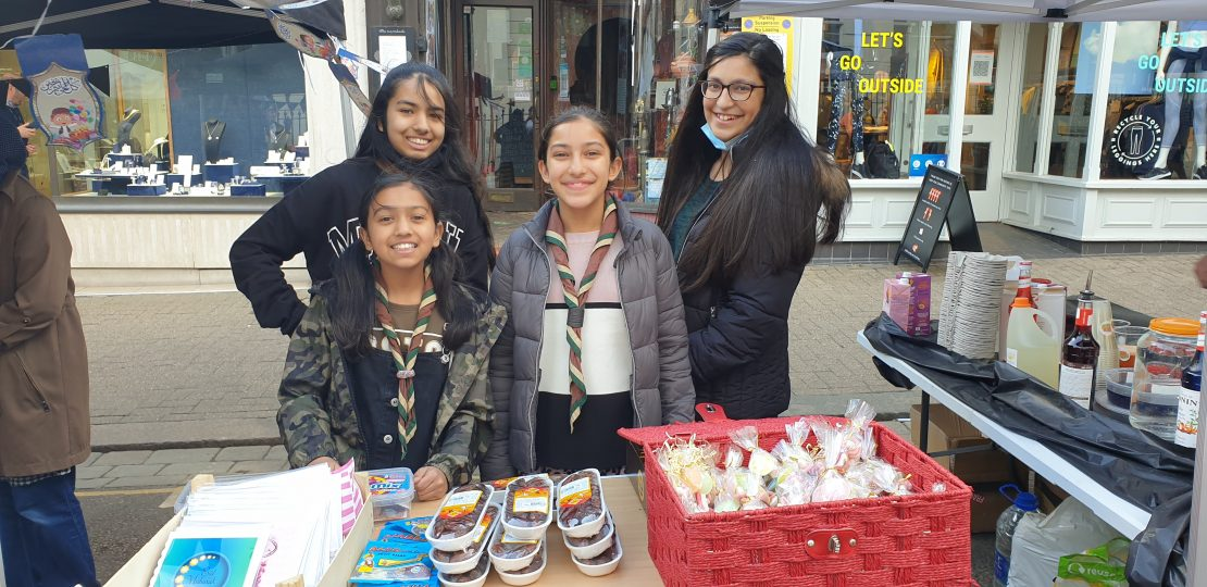 Fundraising at Eid Market